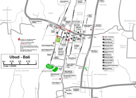 detail ubud bali map  travelers bali weather forecast