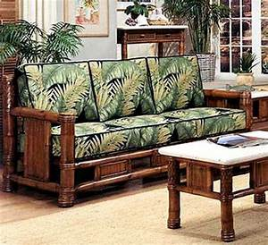 rattan and wicker sofas and sleeper sofas island and With bamboo sofa bed