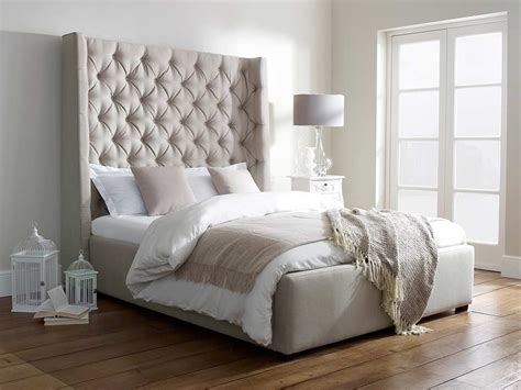 likeness of awe inspiring tall upholstered beds that will enhance your bedroom value bedroom