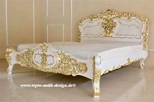 Kolonial Bett 160x200 : barock bett rokoko betten shop repro antik design ~ Michelbontemps.com Haus und Dekorationen