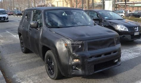 jeep crossover interior spyshots jeep junior crossover spied again with more