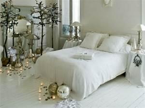 28 idees deco chambre pour accueillir noel avec style With chambre bébé design avec couronne de fleurs deces