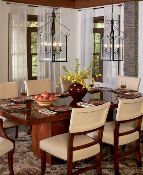 quoizel double chandeliers traditional dining room  metro  quoizel