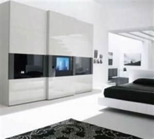 Kleiderschrank Mit Fernseher : kleiderschrank wei hochglanz schiebet r ~ Sanjose-hotels-ca.com Haus und Dekorationen