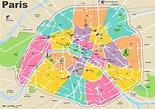 Paris map – Älypuhelimen käyttö ulkomailla