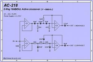 2 Oct  Active Crossover Pcb