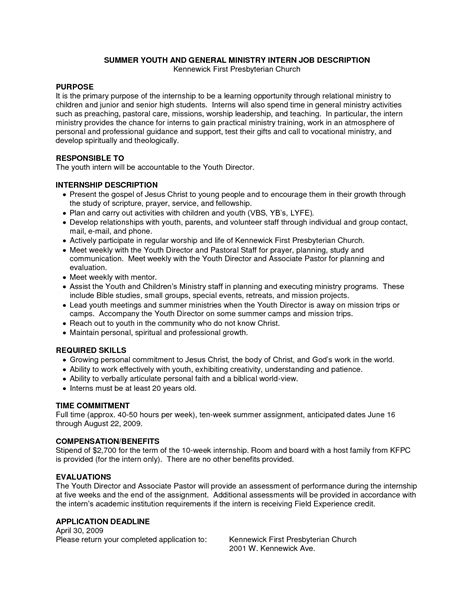 Resume Cover Letter Youth Worker | Example Good Resume