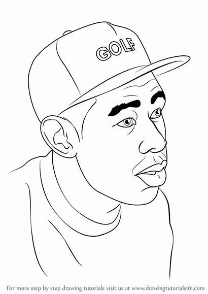 Drawing Cartoon Tyler Creator Draw Drawings Step