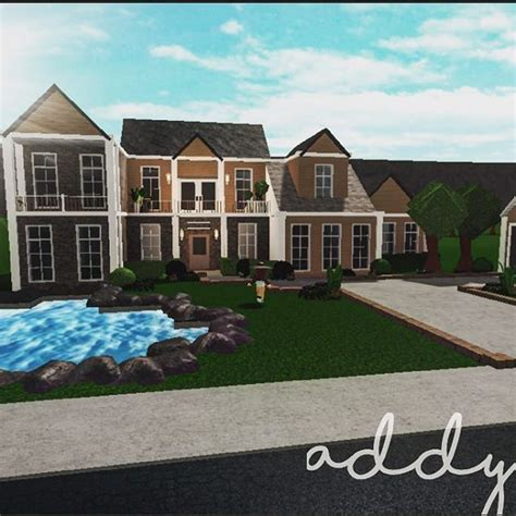 pin  cece  roblox house plans mansion family house plans modern family house