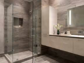 White And Gray Bathroom Ideas Modern Gray White Bathroom Contemporary Bathroom San Francisco By Gustafson