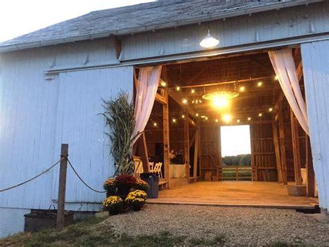 barnstone wooster  rustic wedding guide