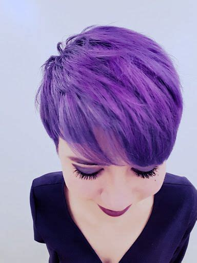 25 Best Ideas About Purple Pixie On Pinterest Short