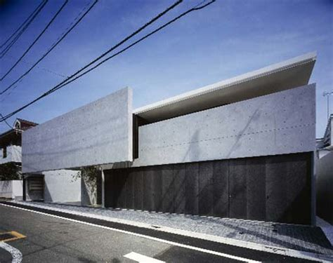 Japanese Concrete House  Modern World Furnishing Designer