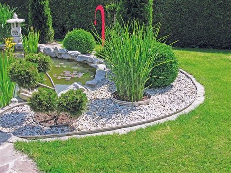 Garten Abstand by Ein Garten Wie Vom Gala Bauer Mit Rasenkanten Aus Metall
