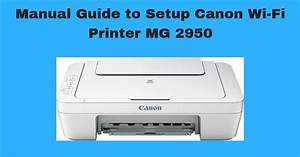 Manual Guide To Setup Canon Wi