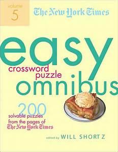 New York Times Easy Crossword Puzzle Omnibus Volume 5  200