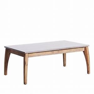 Table Jardin En Bois : table basse de jardin bois et superstone nokor by drawer ~ Dode.kayakingforconservation.com Idées de Décoration