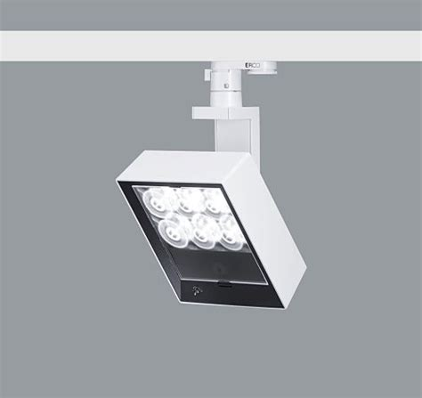 sp1 led lens wall washer track mounted light raylinc