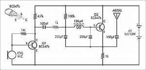 Simple Am Transmitter Circuit Diagram  59464