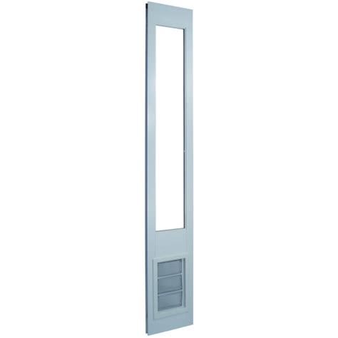 ideal pet products vip vinyl insulated pet patio door 78