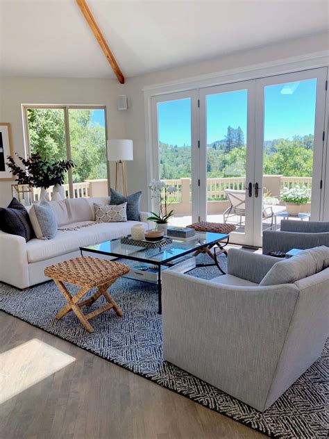 living dining room makeovers  gorgeous views beforeafter classic casual home