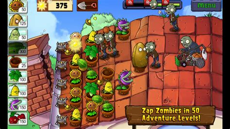 plants vs zombies amazon tablet kindle zombie popcap games open android edition