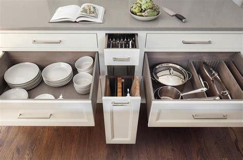 custom pot  pan lid drawer  dividers transitional
