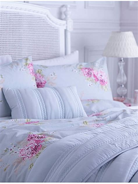 shabby chic hydrangea bedding shabby chic belle hydrangea bed linen house of fraser