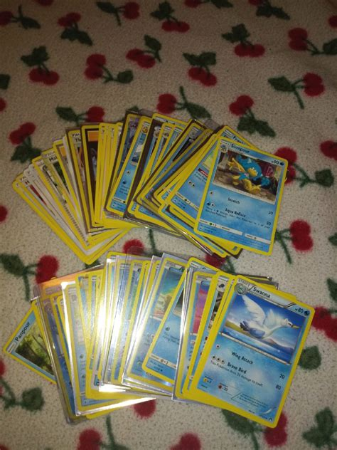 Check spelling or type a new query. *This listing is for 100 Pokemon cards! *25 Trainer and 75 Water-type Pokemon cards! *No repeats ...
