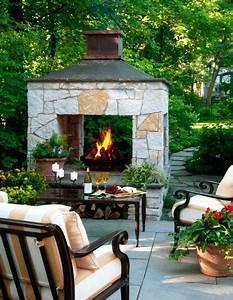Gas Feuerstelle Outdoor : small outdoor fireplace ~ Michelbontemps.com Haus und Dekorationen