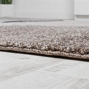 Teppich Grau Beige : teppich meliert webteppich hochwertig wellen optik meliert grau beige creme teppiche ~ Indierocktalk.com Haus und Dekorationen