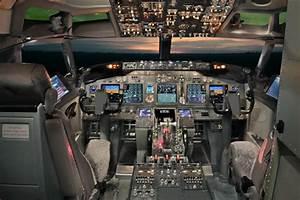 Cabina De Pilotaje Del Boeing 737
