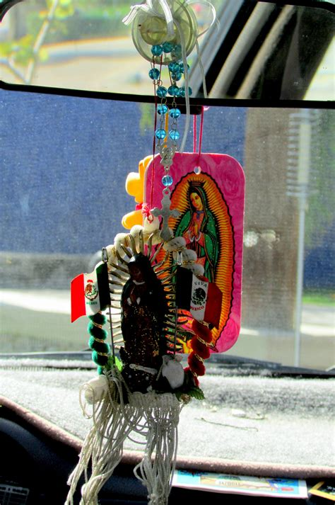 Unique Things Hang From Your Car Rearview Mirror