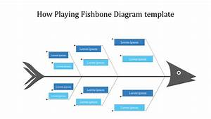 Fishbone Diagram Template Powerpoint Presentation  With