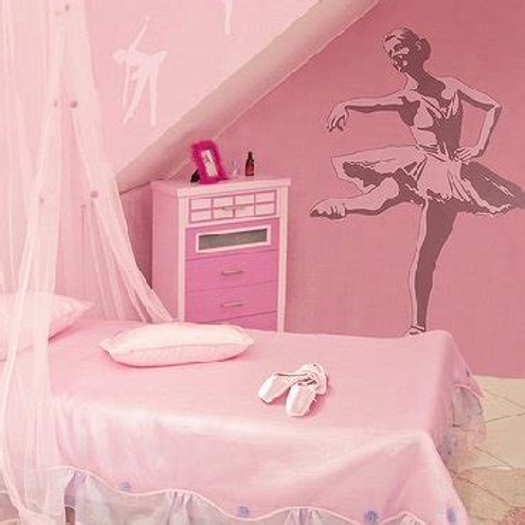Dance & Ballet Theme Bedroom  Girls Dancing Wall Decor