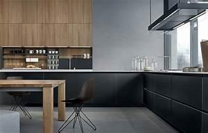 Lacquered wooden kitchen TWELVE by Varenna by Poliform ...