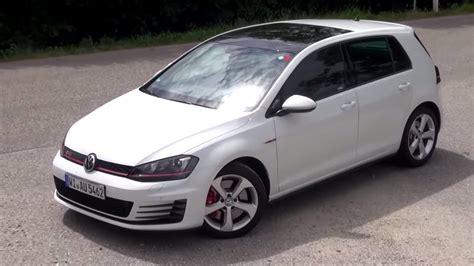 vw golf gti 7 2015 vw golf 7 gti performance 230 hp test drive