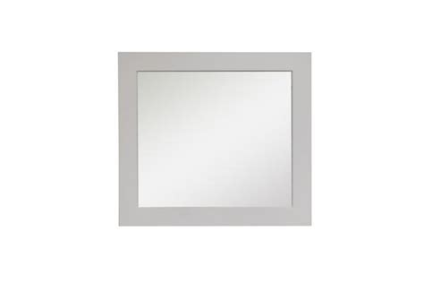 Maple Bathroom Mirror by 30 Quot Maple Wood Frame Mirror With Beveled Edge Broadway