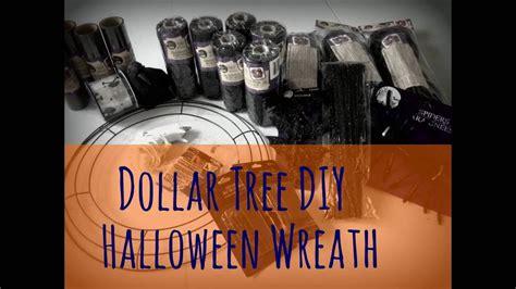 Dollar Tree Diy Halloween Wreath Review  Youtube