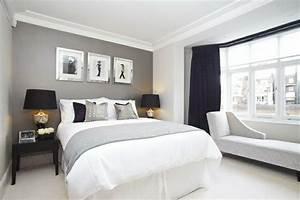 Deckkraft Wandfarbe Weiß : schlafzimmer ideen wei grau ~ Michelbontemps.com Haus und Dekorationen