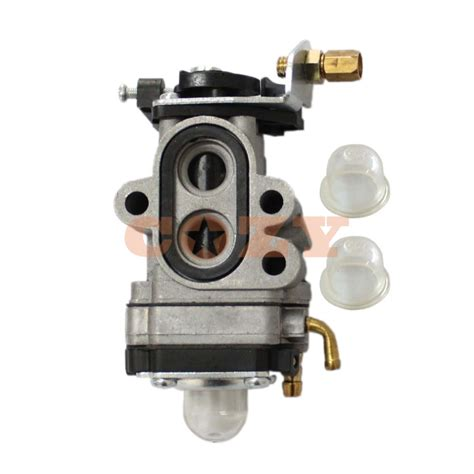 new carburetor w primer bulb replace walbro wya 73a for