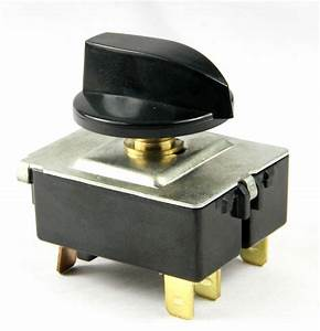 Rotary Switch 4 Positions For Air Conditioner 20a  130vac 60hz