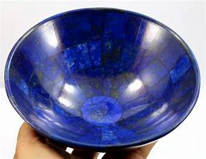 Royal Blue Lapis Lazuli : hand crafted royal blue lapis lazuli bowl 146 x 70mm 406gm catawiki ~ Markanthonyermac.com Haus und Dekorationen