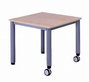 Kleiner Tisch Mit Rollen : tisch fahrbar quadrattisch txb 80x80 cm mobile tische tische mit rollen fahrbare tische ~ Indierocktalk.com Haus und Dekorationen