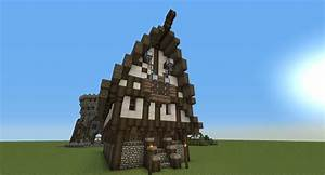 Medieval Shop/House Minecraft Project