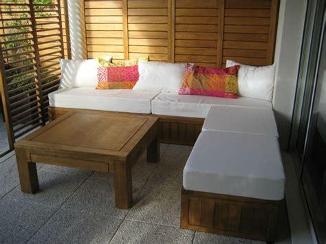 banquette exterieure bois photos de conception de maison