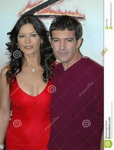 Catherine Zeta Jones Antonio Banderas Photo U00e9ditorial