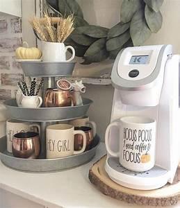 Kitchen, Coffee, Station, Ideas, U2014, Diy, Home, Coffee, Bar, Set