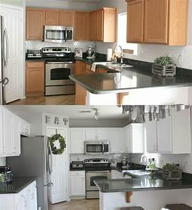 kitchen in snow white milk paint general finishes design With kitchen colors with white cabinets with transfer stickers for wood