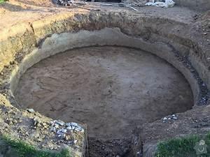 Betonová deska pod bazén